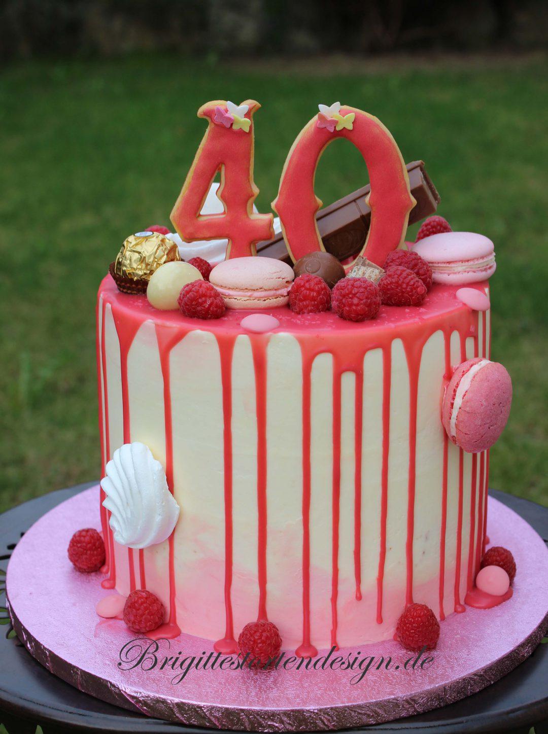 Naked Cake Semi Naked Cake Kurs Brigittes Tortendesign
