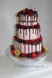 Dripcake Als Hochzeitstorte Mit Obst Glutenfrei Brigittes